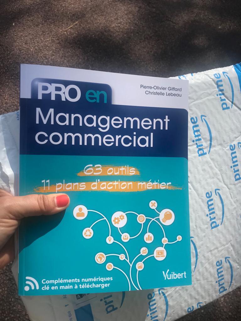 """livre """"pro en management commercial"""""""
